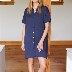 EUC Emerson Fry T Dress- Navy